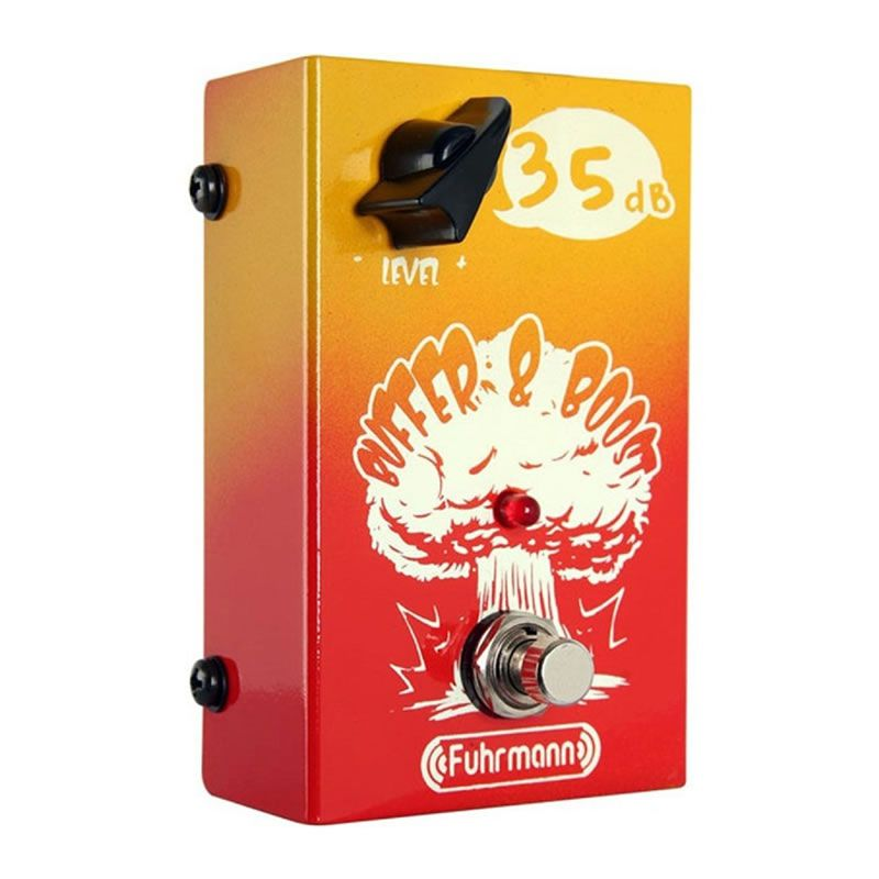 Pedal Fuhrmann Buffer Boost Bb01  - Luggi Instrumentos Musicais