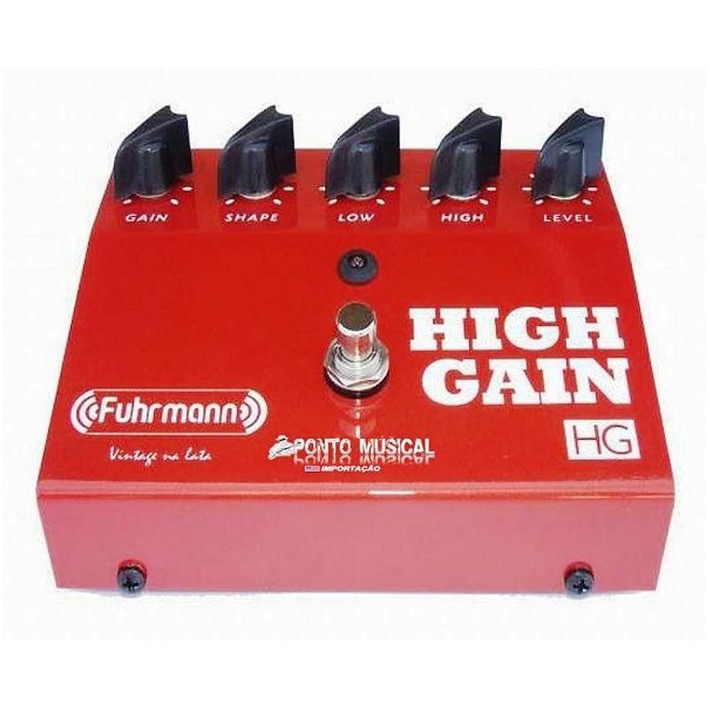 Pedal Fuhrmann High Gain Hg01  - Luggi Instrumentos Musicais