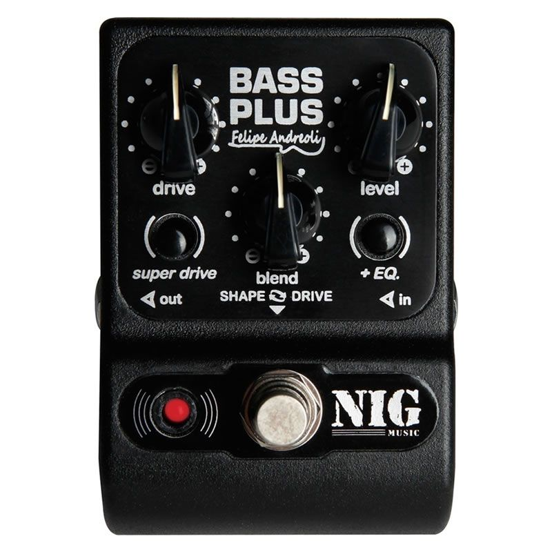Pedal Nig Bass Plus Felipe Andreoli Pbpl  - Luggi Instrumentos Musicais