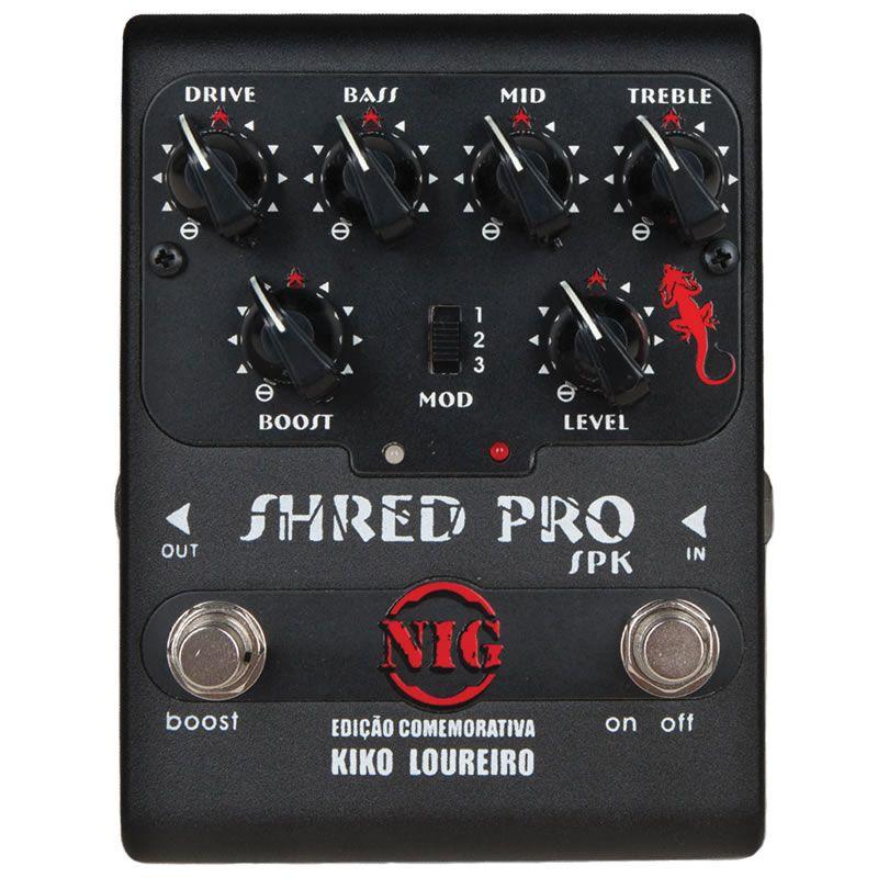 Pedal Nig Shred Pro Kiko Loureiro Spk  - Luggi Instrumentos Musicais