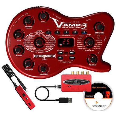 Pedaleira Behringer Vamp3  - Luggi Instrumentos Musicais