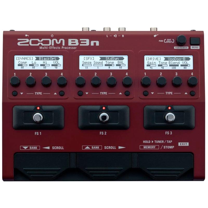 Pedaleira Zoom para Baixo B3n  - Luggi Instrumentos Musicais