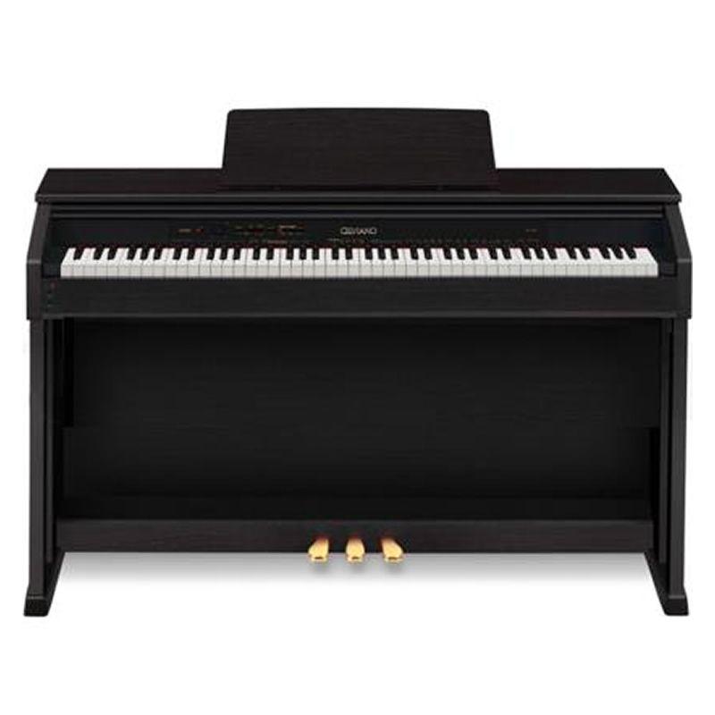 Piano Casio Celviano Ap460 Preto  - Luggi Instrumentos Musicais