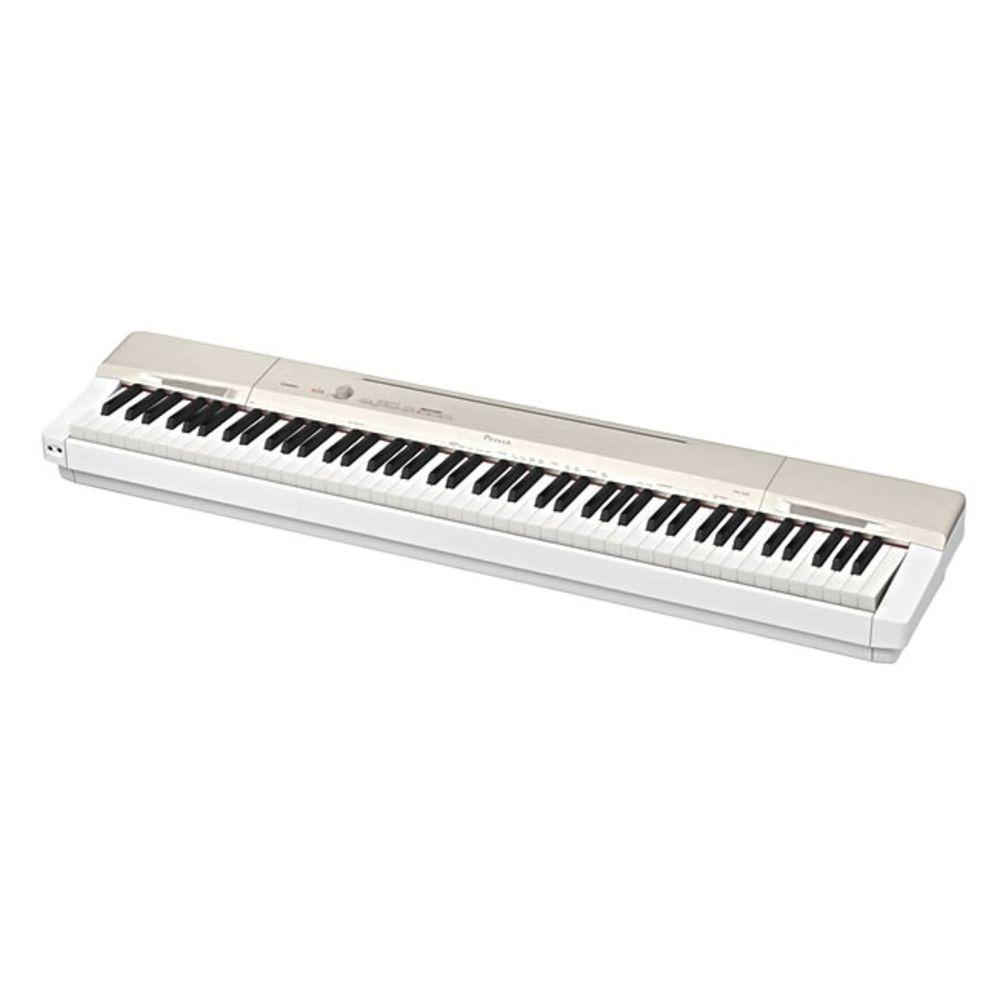 Piano Casio Privia Px160 Dourado  - Luggi Instrumentos Musicais