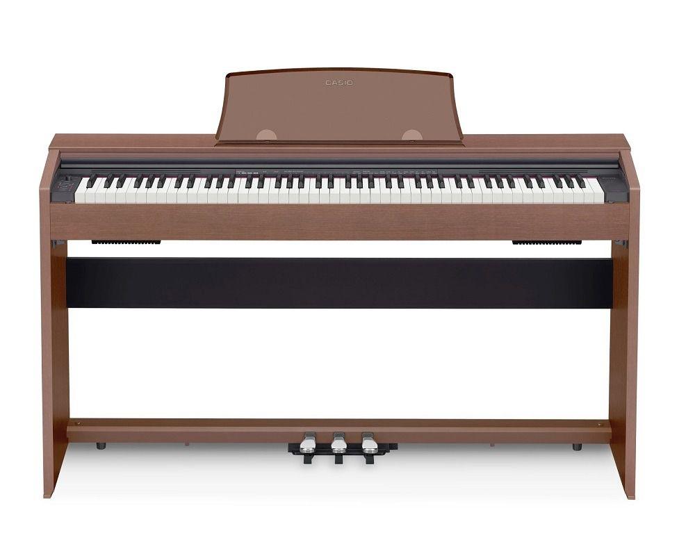 Piano Casio Privia Px770Bn Marrom  - Luggi Instrumentos Musicais