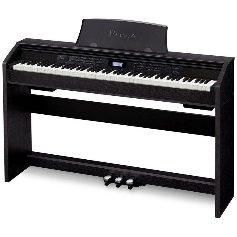 Piano Casio Privia Px780 Preto  - Luggi Instrumentos Musicais