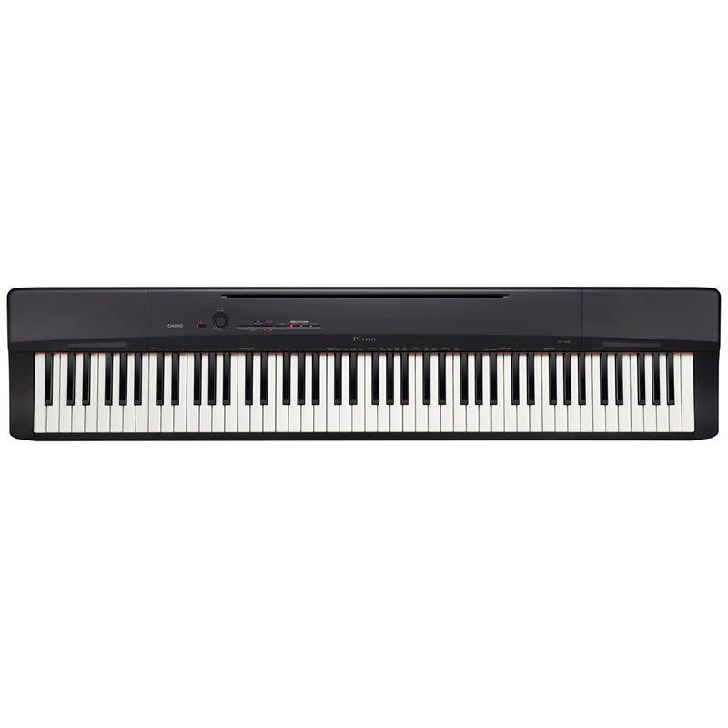 Piano Casio Privia PX-160 Preto  - Luggi Instrumentos Musicais