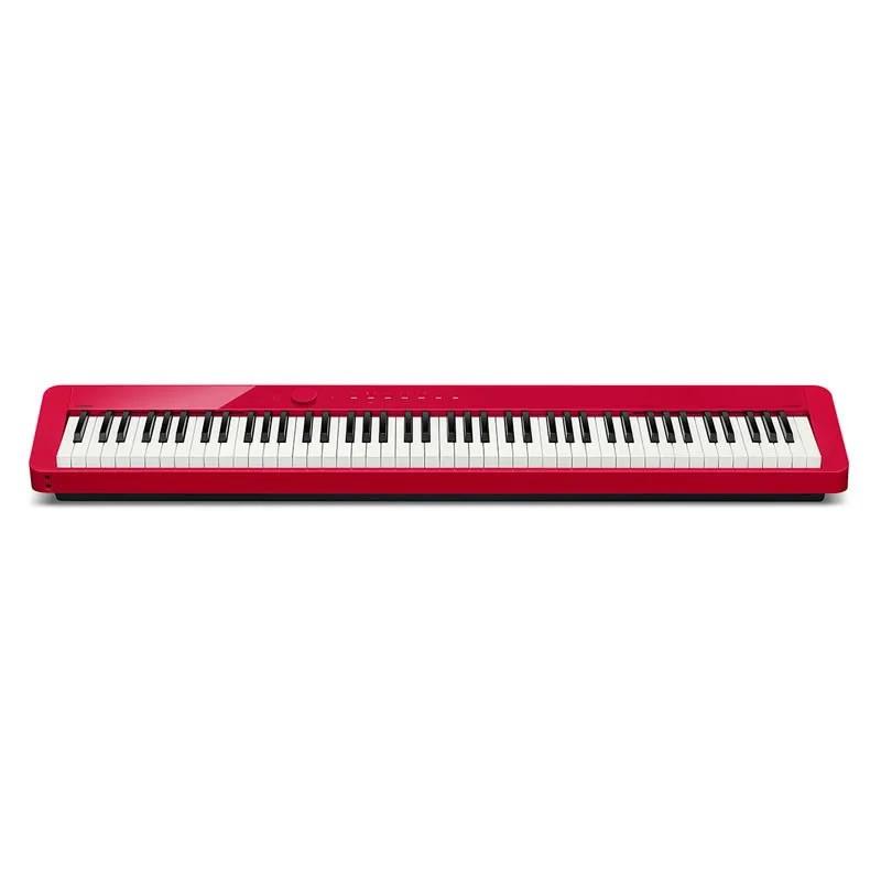 Piano Casio Privia PX S1000 Vermelho 88 teclas  - Luggi Instrumentos Musicais