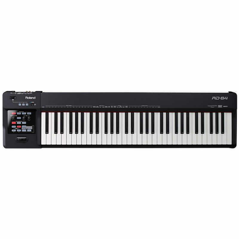 Piano Roland Rd64  - Luggi Instrumentos Musicais