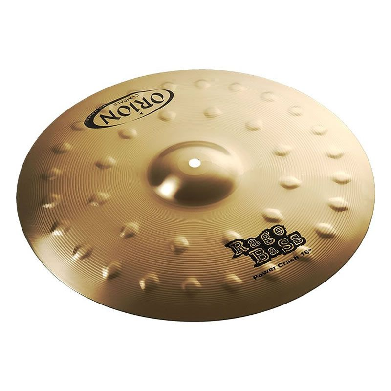 "Prato 16"" Orion Power Crash Rage Bass Rb16Pc  - Luggi Instrumentos Musicais"