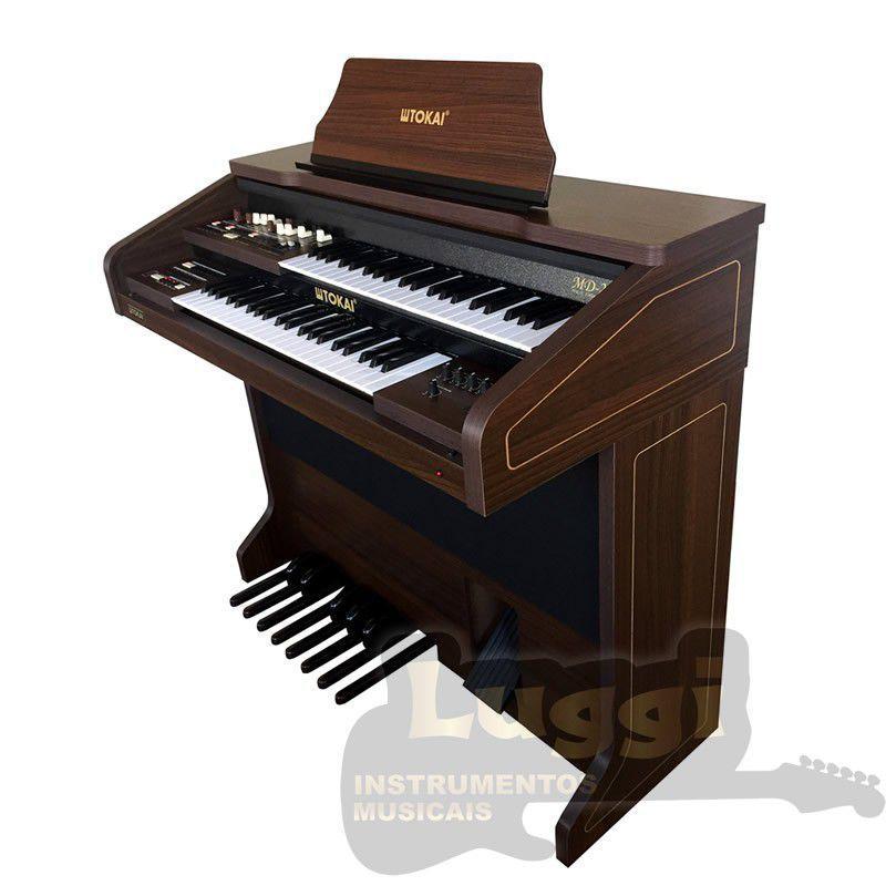 Órgão Tokai Md-20 Marrom