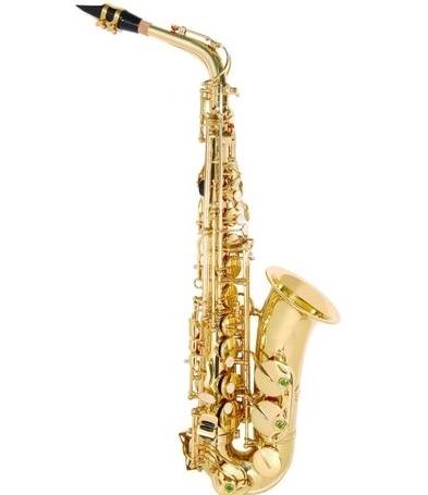 SAX ALTO ANDALUZ FT6430L DOURADO  - Luggi Instrumentos Musicais