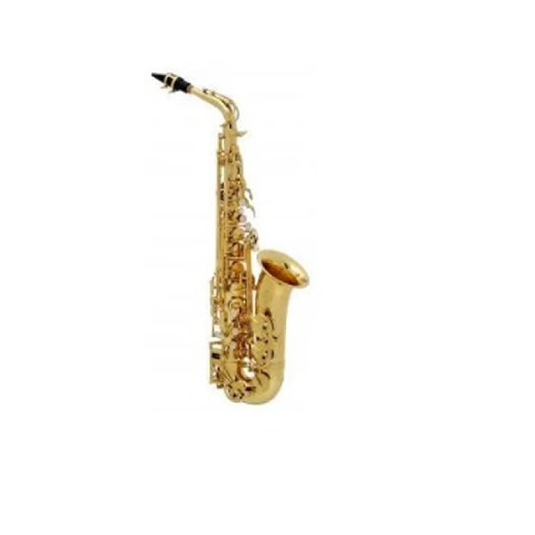 Sax Alto Buffet Crampon Bc8101 Bb Serie 100 Laquea  - Luggi Instrumentos Musicais