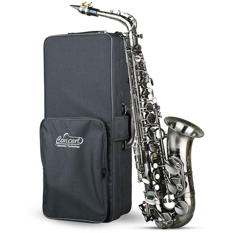 Sax Alto Concert Cas980 Eb Escovado  - Luggi Instrumentos Musicais