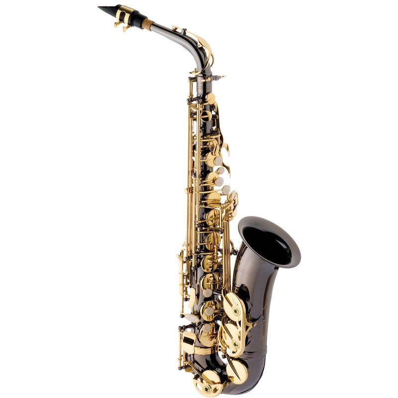Sax Alto Eagle Mib Sa500Bg Preto Onyx  - Luggi Instrumentos Musicais