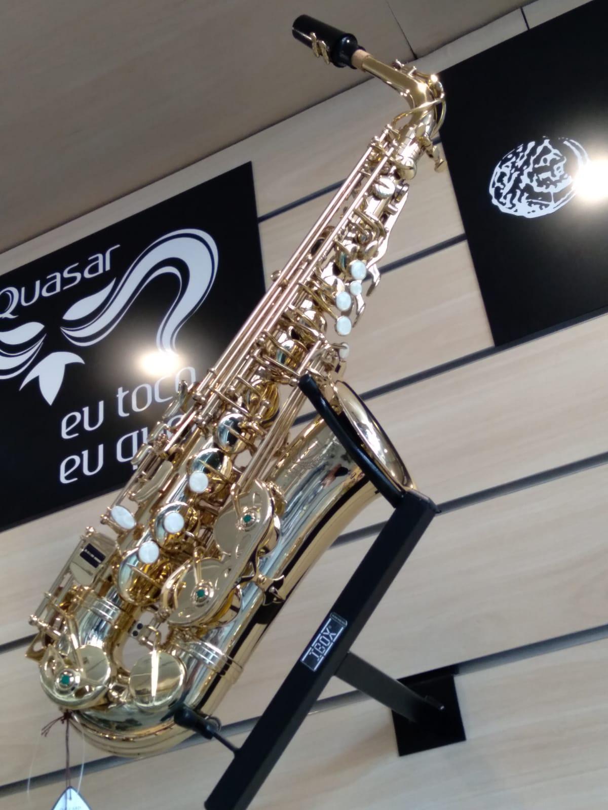 SAX ALTO EAGLE Mib SA501 LAQUEADO  - Luggi Instrumentos Musicais