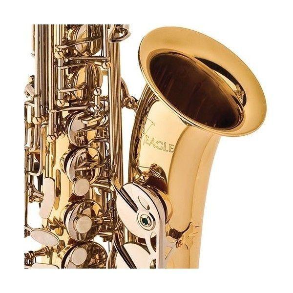 Sax Alto Eagle Sa500Ln C/ Estojo  - Luggi Instrumentos Musicais