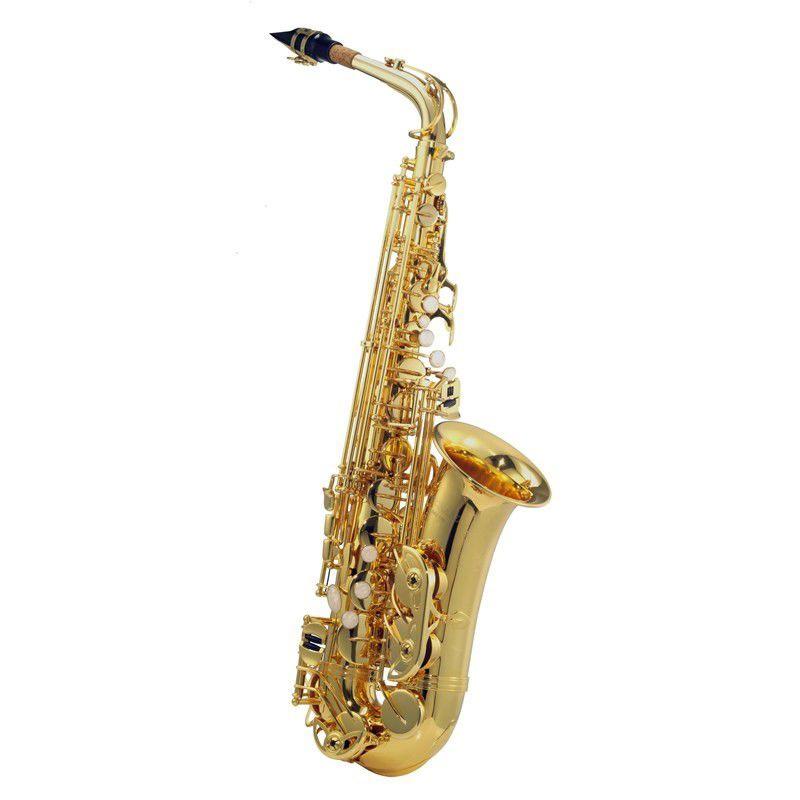 Sax Alto Harlem Sound C.Ibanez Dourado  - Luggi Instrumentos Musicais