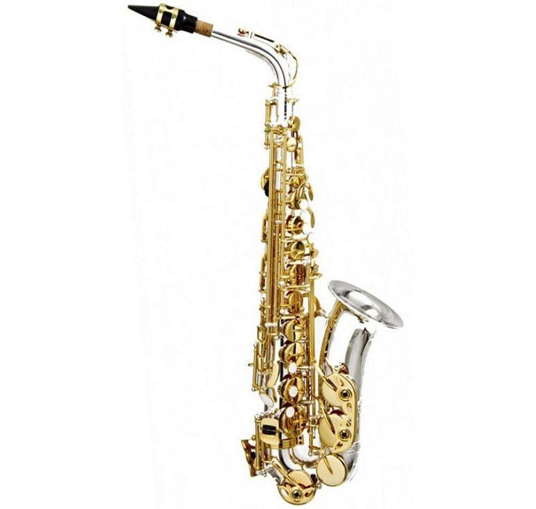 Sax Alto Hoyden Has-25Nl Niquelado/Laqueado  - Luggi Instrumentos Musicais