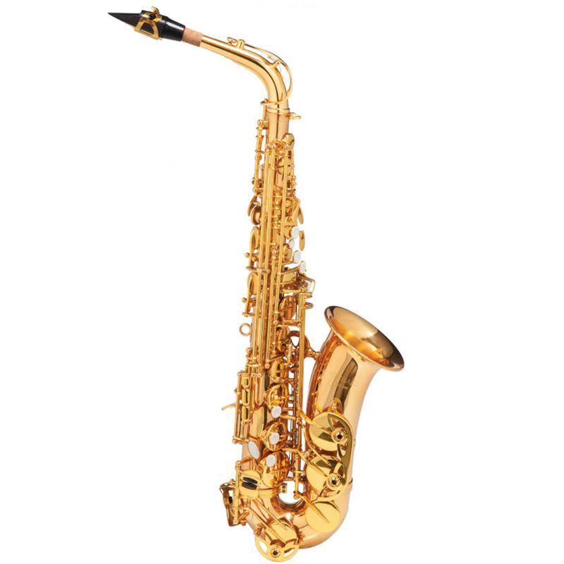 Sax Alto Michael Wasm48 Dourado  - Luggi Instrumentos Musicais