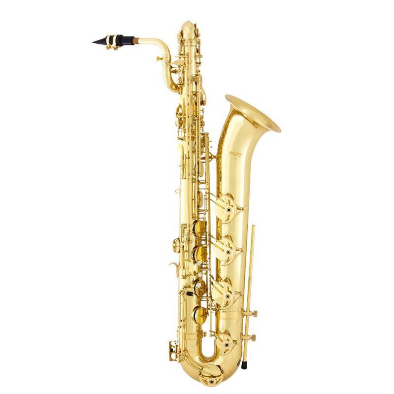 Sax Baritono Quasar Qbs104L Laqueado  - Luggi Instrumentos Musicais