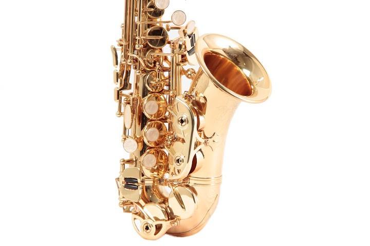 Sax Sopranino Schieffer Laqueado Schss001C  - Luggi Instrumentos Musicais