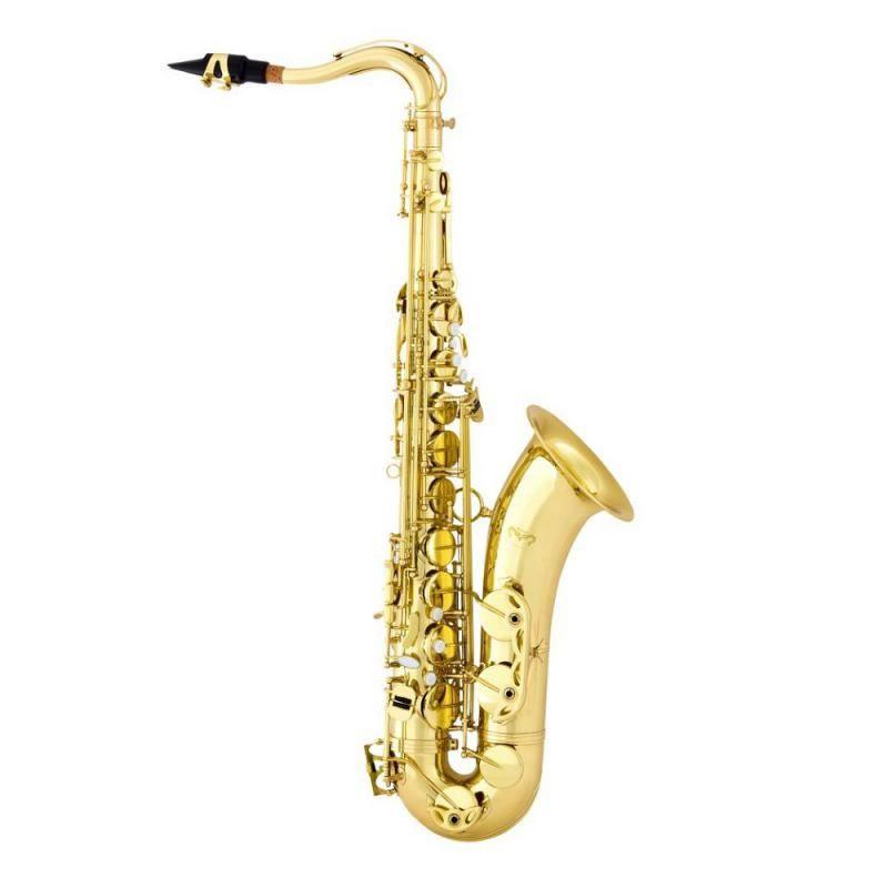 Sax Tenor Quasar Qts102L Laqueado  - Luggi Instrumentos Musicais