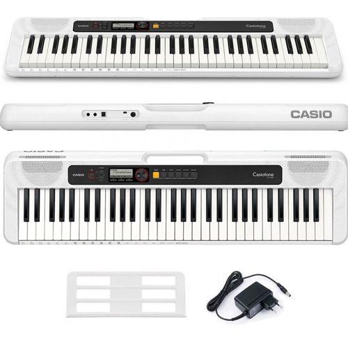 Teclado Casio Casiotone Cts200 Branco  - Luggi Instrumentos Musicais