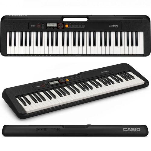 Teclado Casio Casiotone Cts200 Preto  - Luggi Instrumentos Musicais