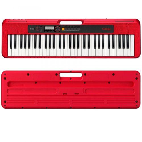 Teclado Casio CT-S200 Vermelho  - Luggi Instrumentos Musicais