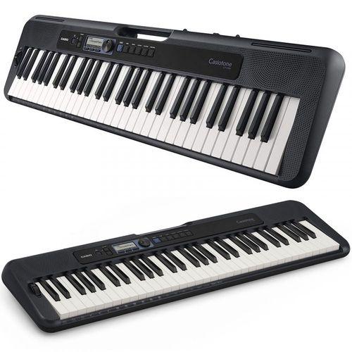 Teclado Casio Casiotone Cts300 Preto  - Luggi Instrumentos Musicais