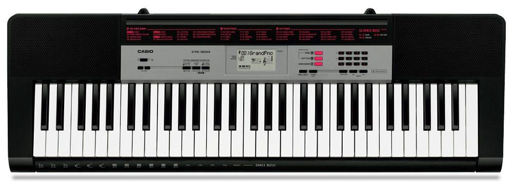 Teclado Casio Ctk1500  - Luggi Instrumentos Musicais