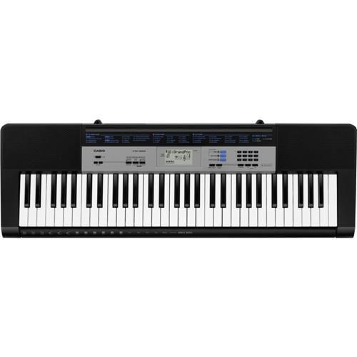 Teclado Casio Ctk1550 Preto  - Luggi Instrumentos Musicais