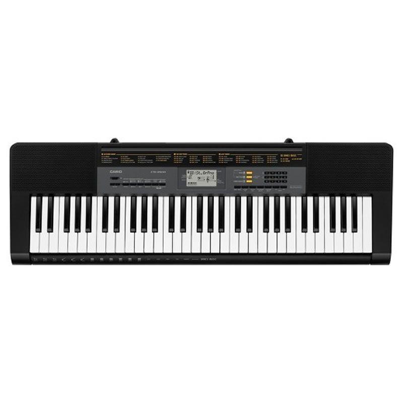 Teclado Casio Ctk2500 Preto  - Luggi Instrumentos Musicais