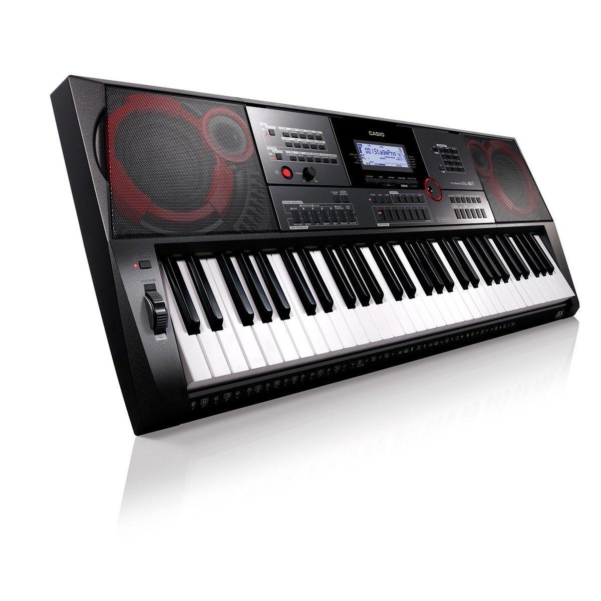 Teclado Casio Ctx-5000  - Luggi Instrumentos Musicais