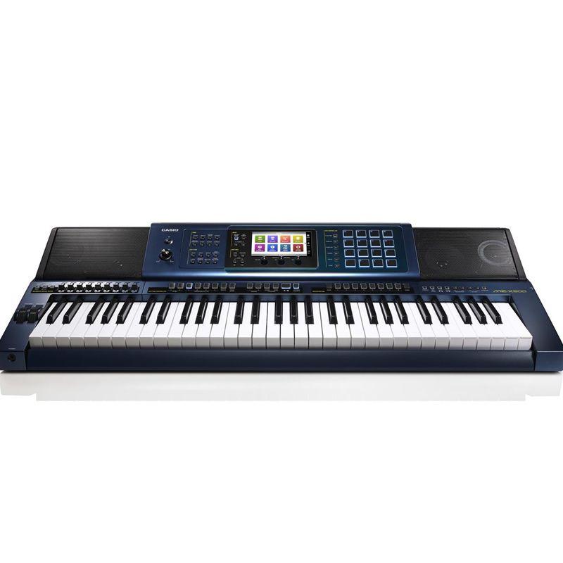 Teclado Casio Mz-X500 Azul C/Fonte  - Luggi Instrumentos Musicais