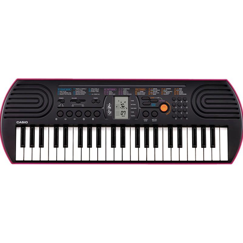 Teclado Casio Sa-78 Infantil Rosa  - Luggi Instrumentos Musicais