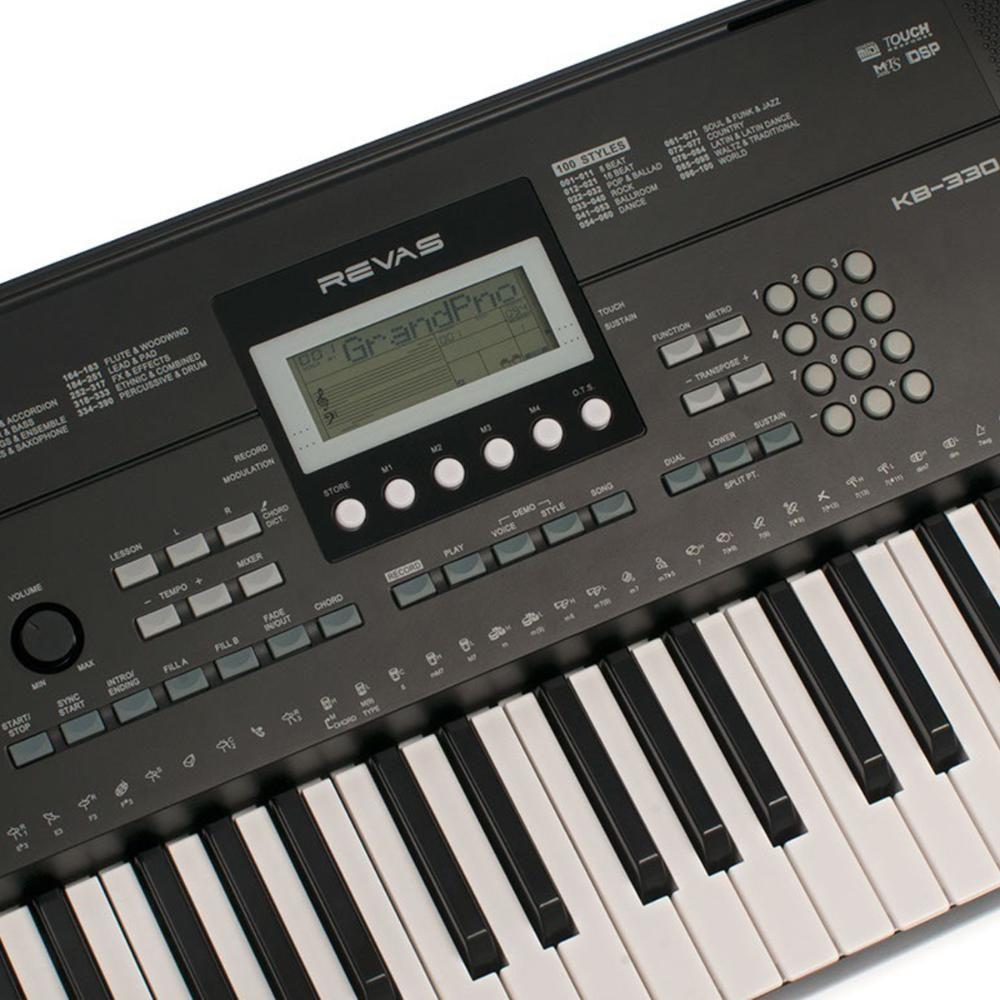 Teclado Revas Kb-330  - Luggi Instrumentos Musicais