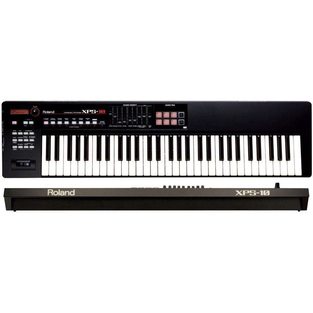 Teclado Roland Sintetizador Xps10 Preto  - Luggi Instrumentos Musicais