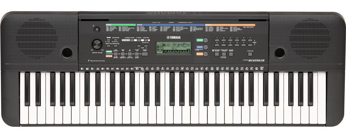 Teclado Yamaha Psr E253  - Luggi Instrumentos Musicais