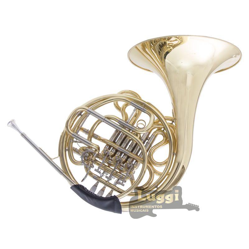 Trompa Schieffer Laqueada Schfr001  - Luggi Instrumentos Musicais