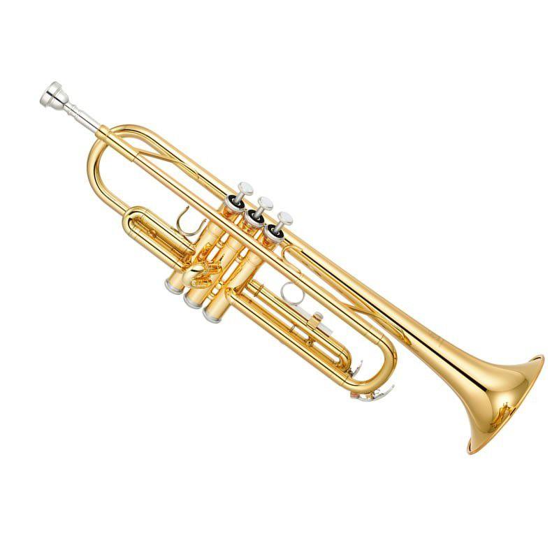 Trompete Harlem Sib Laqueado  - Luggi Instrumentos Musicais