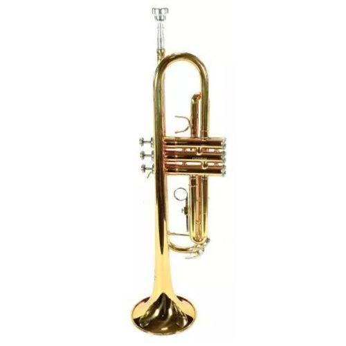 Trompete Jahnke Si Bemol Laqueado Jtr001Lq  - Luggi Instrumentos Musicais