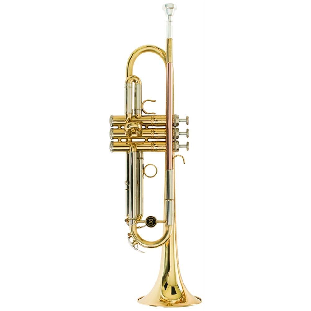 Trompete Michael Wtrm66 Duplo Laqueado  - Luggi Instrumentos Musicais