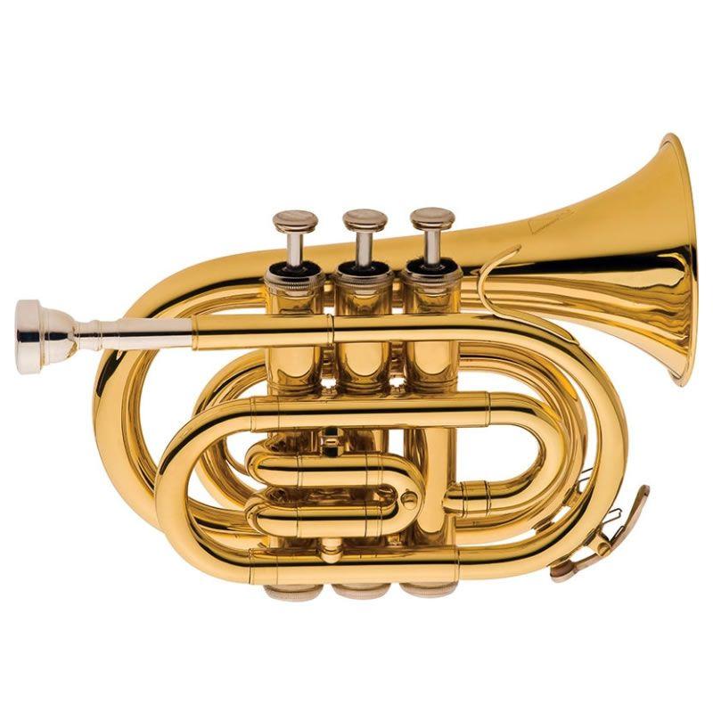 Trompete Pocket Eagle Tp520  - Luggi Instrumentos Musicais