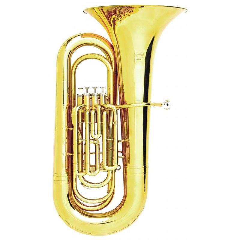 Tuba Hoyden 4/4 Htbs 50Pl Sib 4 Pistos  - Luggi Instrumentos Musicais