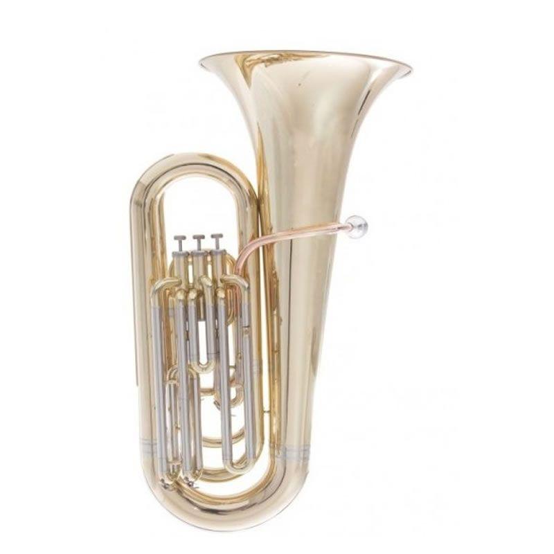 Tuba Schieffer 3/4 3 Pistos Laqueado Scht16380P3  - Luggi Instrumentos Musicais