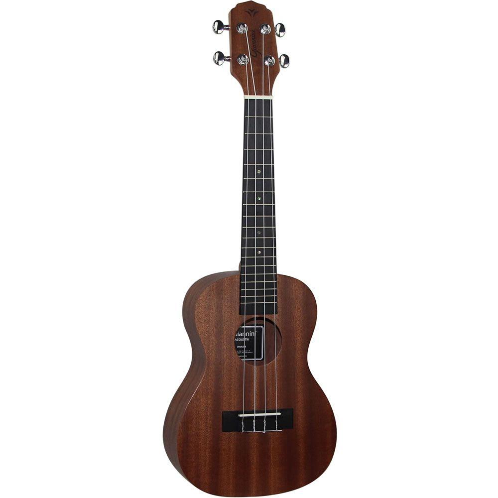 Ukulele Giannini Concert Guk-23 ZW Sapele C/Capa  - Luggi Instrumentos Musicais