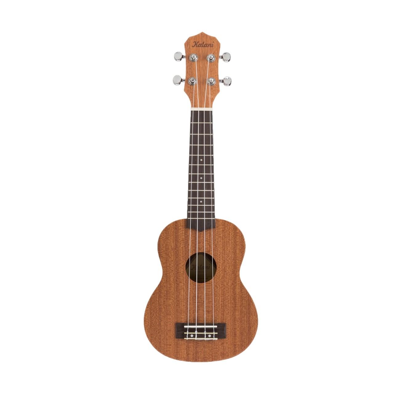 Ukulele Kalani Soprano Tribes Series KAL 220 SS Natural C/Capa  - Luggi Instrumentos Musicais