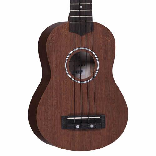 Ukulele Michael Mk21 Mahogany Acústico  - Luggi Instrumentos Musicais